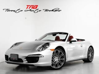 Used 2015 Porsche 911 CARRERA 4 I CONVERTIBLE I PDK I NAVI I RED for sale in Vaughan, ON
