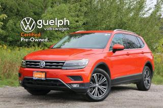 Used 2018 Volkswagen Tiguan Highline Remote Start, 360 Camera, App-Connect for sale in Guelph, ON