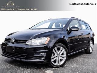 Used 2016 Volkswagen Golf Sportwagen Highline navigation lane departure assist rear cam for sale in Concord, ON