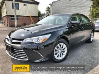 Used 2016 Toyota Camry HYBRID LE SUPER LOW MILEAGE!!  HYBRID TECHNOLOGY  BACKUP for sale in Ottawa, ON