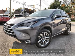 Used 2016 Lexus NX 200t LUXURY PACK  LEATHER  ROOF  NAVI  BLIS for sale in Ottawa, ON