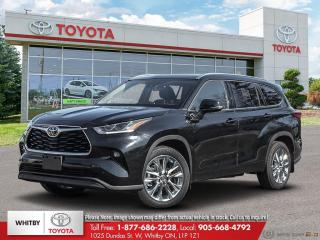 New 2020 Toyota Highlander LIMITED  for sale in Whitby, ON