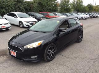 Used 2015 Ford Focus SE HATCHBACK - SUNROOF - ALLOY WHEELS! for sale in Ottawa, ON