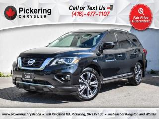 Used 2017 Nissan Pathfinder Platinum - NAV/Leather/Rear CAM/Heated Seats/20S for sale in Pickering, ON