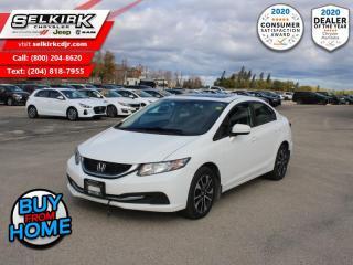 Used 2015 Honda Civic Sedan EX - Bluetooth -  Heated Seats for sale in Selkirk, MB