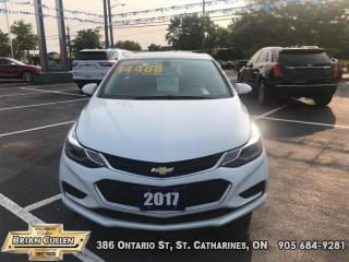 Used 2017 Chevrolet Cruze LT for sale in St Catharines, ON