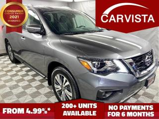 Used 2019 Nissan Pathfinder 4x4 SV Tech - FACTORY WARRANTY/NO ACCIDENTS - for sale in Winnipeg, MB