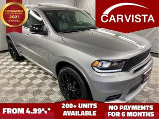 Used 2019 Dodge Durango BLACK TOP GT AWD - FACTORY WARRANTY/LOADED - for sale in Winnipeg, MB