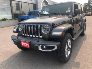 New 2021 Jeep Wrangler Sahara 4x4 V6 for sale in Hamilton, ON