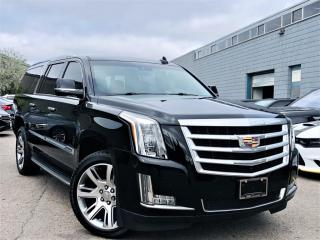 Used 2016 Cadillac Escalade ESV 8 PASSENGER|LUXURY COLLECTION|AWD|BIRD EYE VIEW|HUD! for sale in Brampton, ON