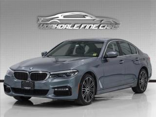 Used 2017 BMW 5 Series 530i, M-Sport Pkg, Heated+Cooled Seats, 360Cam, HUD, Navi, for sale in Concord, ON