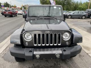 Used 2018 Jeep Wrangler Unlimited Sahara 4X4 for sale in Toronto, ON