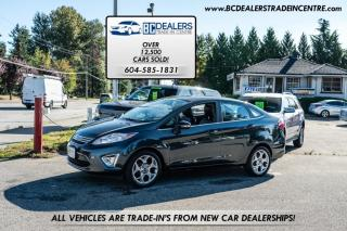 Used 2011 Ford Fiesta SEL ONLY 118k, Local, No Decs, Leather, Sunroof, Bluetooth! for sale in Surrey, BC