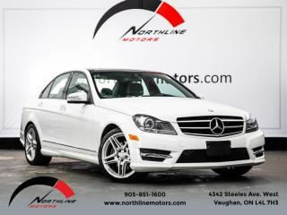Used 2014 Mercedes-Benz C-Class C350 4MATIC|AMG Sport|Navigation|Camera|Heated Leather for sale in Vaughan, ON
