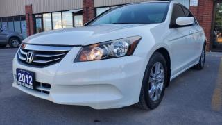 Used 2012 Honda Accord Sedan 4dr I4 Auto SE for sale in Scarborough, ON