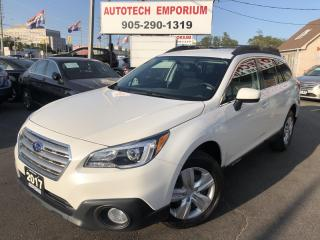 Used 2017 Subaru Outback AWD Backup Camera/Heated Seats/Bluetooth&ABS* for sale in Mississauga, ON