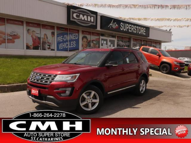 2017 Ford Explorer XLT  4X4 NAV LEATH PANO-ROOF 7-PASS P/SEATS