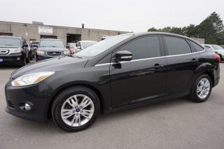 Used 2012 Ford Focus SEL CERTIFIED 2YR WARRANTY BLUETOOTH HEATED CRUISE ALLOYS for sale in Milton, ON