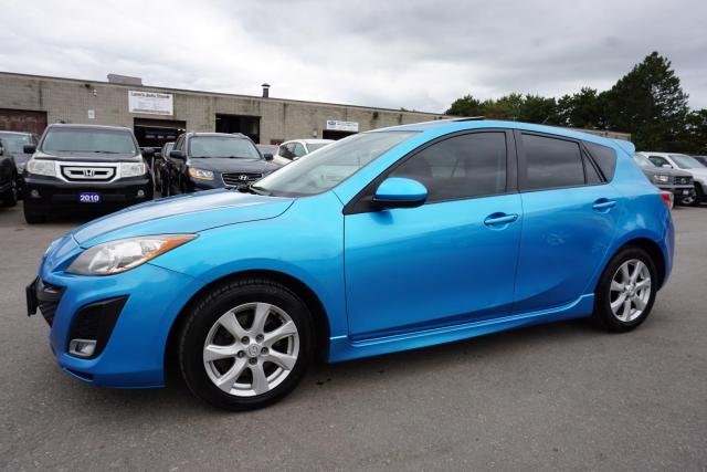 2011 Mazda MAZDA3 S TOURING CERTIFIED 2YR WARRANTY LEATHER SUNROOF BLUETOOTH *FREE ACCIDENT* ALLOYS AUX