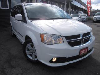 Used 2013 Dodge Grand Caravan Crew, BLUETOOTH, B-CAM BACKUP CAM, CRUISE-CONTROL for sale in Scarborough, ON
