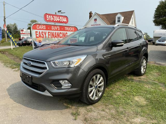 2017 Ford Escape Titanium call/text 5197327478. Navigation, Memory Seating, Panoramic Roof and much more.
