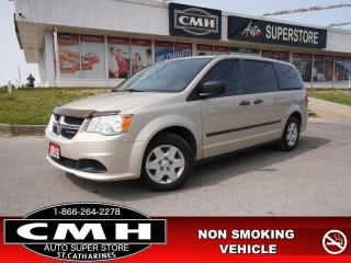Used 2012 Dodge Grand Caravan SE/SXT  V6 STOW 'N GO PWR GROUP for sale in St. Catharines, ON