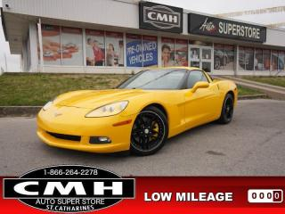 Used 2005 Chevrolet Corvette Base  HUD MANUAL HTD-STS  *REBUILT* for sale in St. Catharines, ON