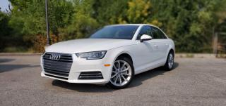 Used 2017 Audi A4 2.0T Progressiv TEXT.US.647.678.7778  NAVI SUNROOF  CLEANCARFAX  for sale in Mississauga, ON