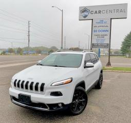 Used 2015 Jeep Cherokee Limited 4WD | PANO ROOF | NAVI | BACKUP CAM | for sale in Barrie, ON