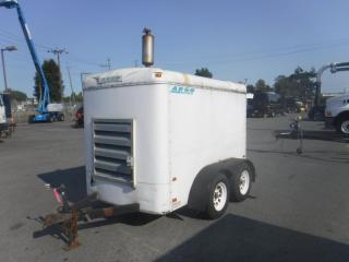 Used 2000 Argo 25 KW Generator Diesel Trailer for sale in Burnaby, BC