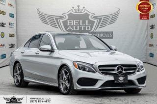 Used 2017 Mercedes-Benz C-Class C 300, NO ACCIDENT, AWD, NAVI, REAR CAM, B.SPOT for sale in Toronto, ON