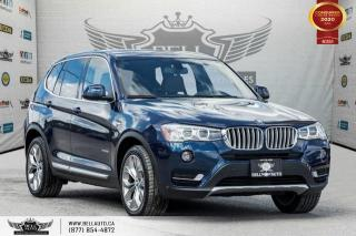 Used 2017 BMW X3 xDrive28i, AWD, NAVI, REAR CAM, SENSORS, PANO ROOF for sale in Toronto, ON