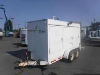 Used 1996 Eric Jensen 35KW Generator Diesel Trailer for sale in Burnaby, BC