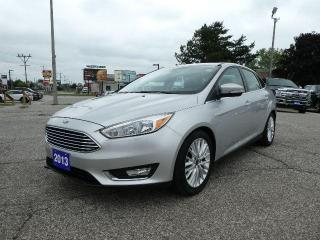 Used 2016 Ford Focus Titanium | Remote Start | Navigation | Sunroof for sale in Essex, ON