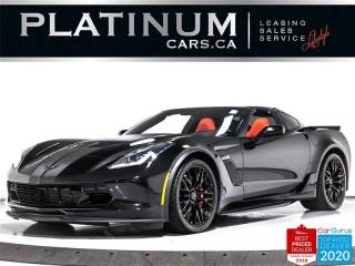 Used 2019 Chevrolet Corvette Z06 650HP, 1LZ, MANUAL, NAV, CAM, TARGA, CARPLAY for sale in Toronto, ON