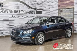 Used 2016 Chevrolet Cruze LS+GR ELECTRIQUE+AIR CLIM for sale in Laval, QC