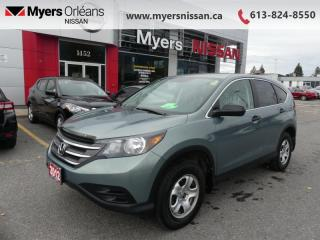 Used 2012 Honda CR-V LX  - Bluetooth -  Heated Seats - $118 B/W for sale in Orleans, ON