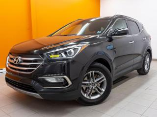 Used 2018 Hyundai Santa Fe Sport LUXURY AWD ALERTE ANGLE MORT NAV CUIR *TOIT PANO* for sale in St-Jérôme, QC