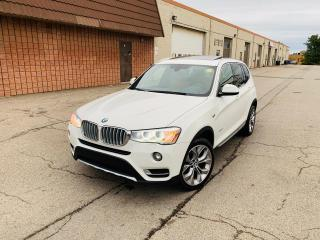 Used 2017 BMW X3 xDrive28i | NAVIGATION | PANO ROOF | CERTIFIED for sale in Burlington, ON