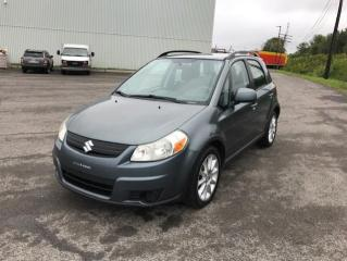 Used 2009 Suzuki SX4 Bicorps traction intégrale JX manuelle 5 for sale in Québec, QC
