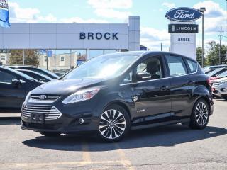 Used 2017 Ford C-MAX HYBRID TITANIUM for sale in Niagara Falls, ON