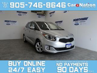Used 2016 Kia Rondo LX  | BLUETOOTH | HEATED SEATS| ONLY 39KM| 1 OWNER for sale in Brantford, ON