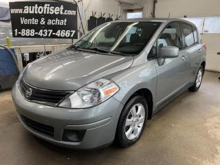 Used 2010 Nissan Versa 5dr HB I4 Manual 1.8 S for sale in St-Raymond, QC
