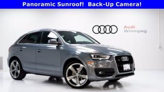Used 2015 Audi Q3 Technik w/Sport Package & Navi *Local w/ Winter Tires* for sale in Winnipeg, MB