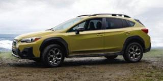 New 2021 Subaru XV Crosstrek Sport for sale in Sudbury, ON