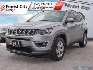 Used 2019 Jeep Compass North 4x4: Demo, Heated Seats, Blind-Spot Monitoring, Power Lift-Gate, 2.99% OAC* for sale in London, ON