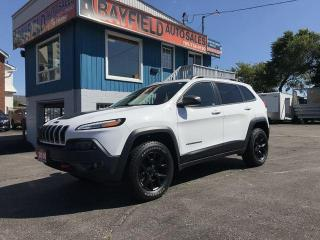 Used 2016 Jeep Cherokee Trailhawk 4x4 V6 **Leather/Navigation/Remote Start** for sale in Barrie, ON