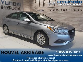 Used 2016 Hyundai Sonata Hybrid HYBRIDE GL+CAMERA+BANCS CHAUFF+BLUETOOTH for sale in Sherbrooke, QC