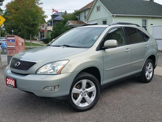 2006 Lexus RX 330 4WD All Luxury Appointments Very Well Kept!!!