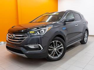 Used 2017 Hyundai Santa Fe Sport 2.0T AWD ALERTES ANGLES MORTS CUIR *TOIT PANO* for sale in Mirabel, QC